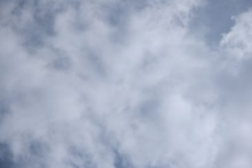 Soft Clouds Covered Sky Pattern