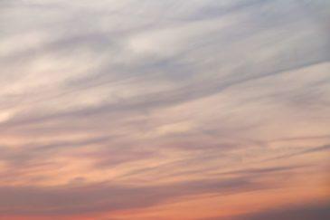 Soft Pastel Sunset Sky