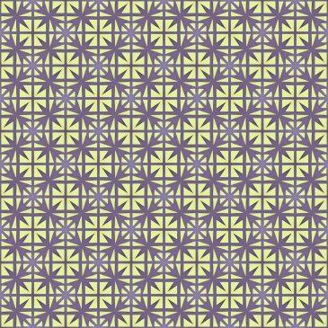 Square Paper Tile Pattern
