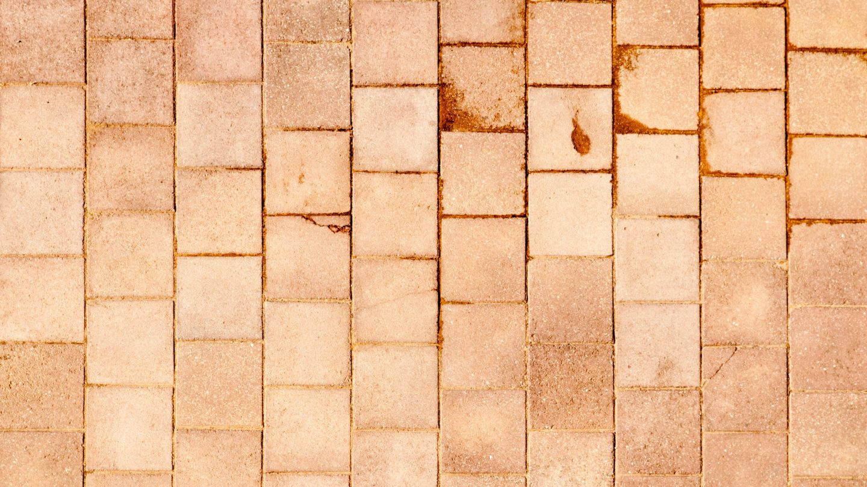Square Tiled Stone Floor