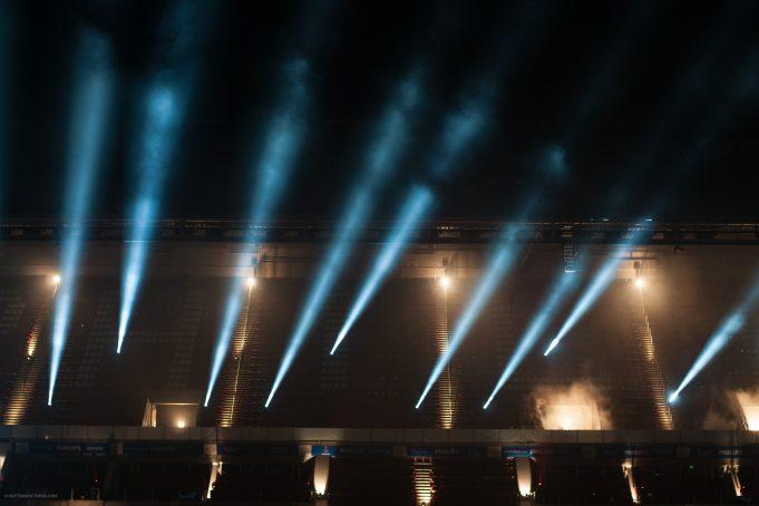 Stadium spots lightshow