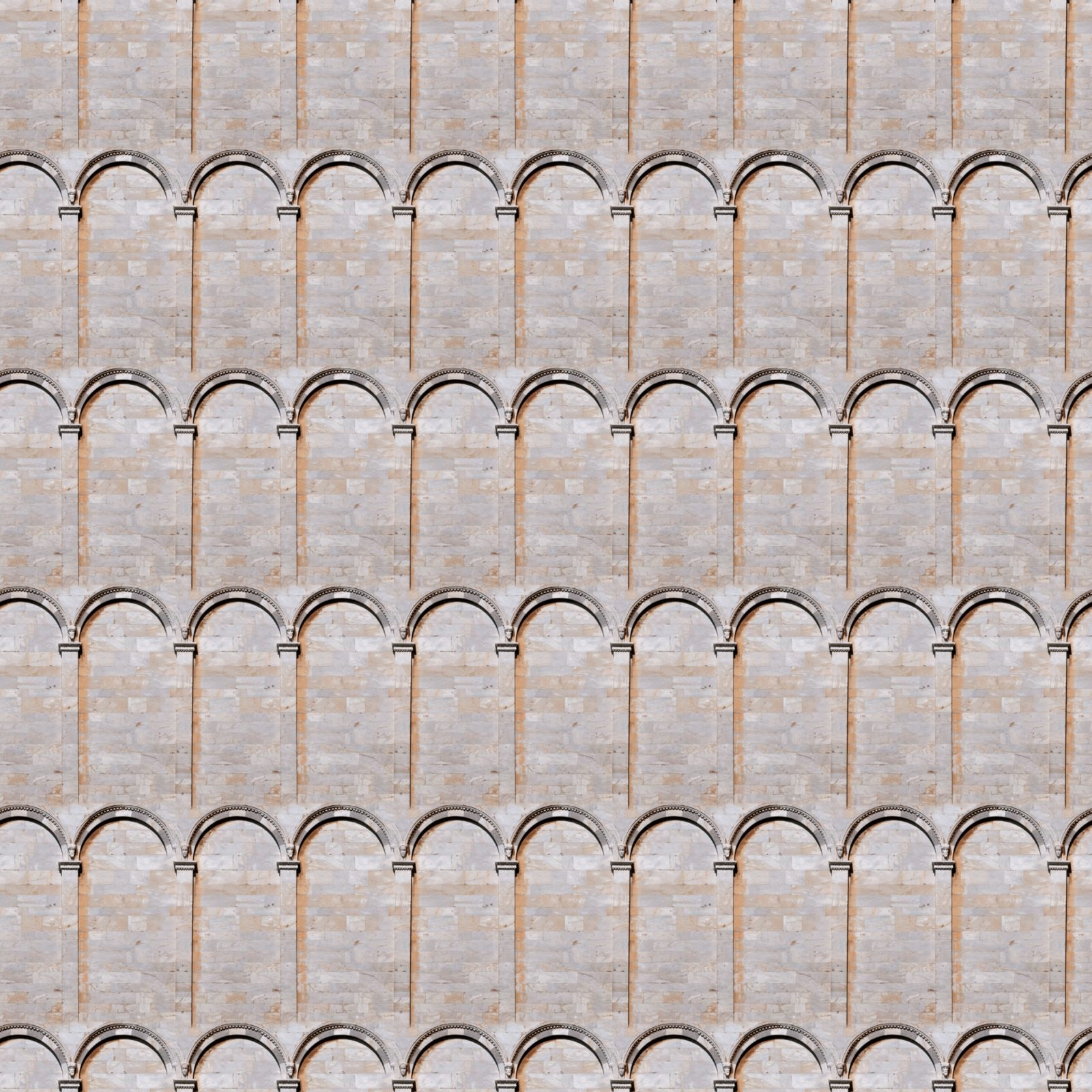 Stone Arches And Columns Wall Seamless Texture