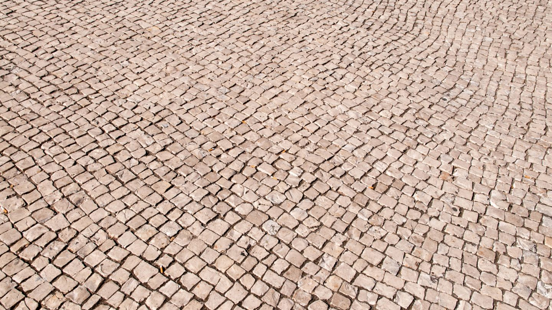 Street Road Stone Mosaic
