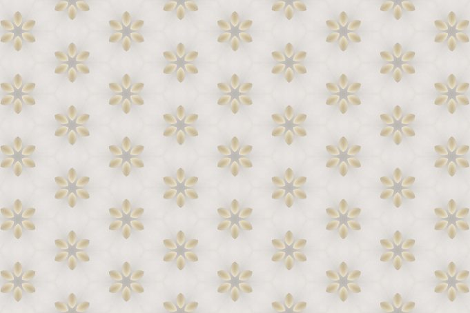 Subtle light white flowers pattern