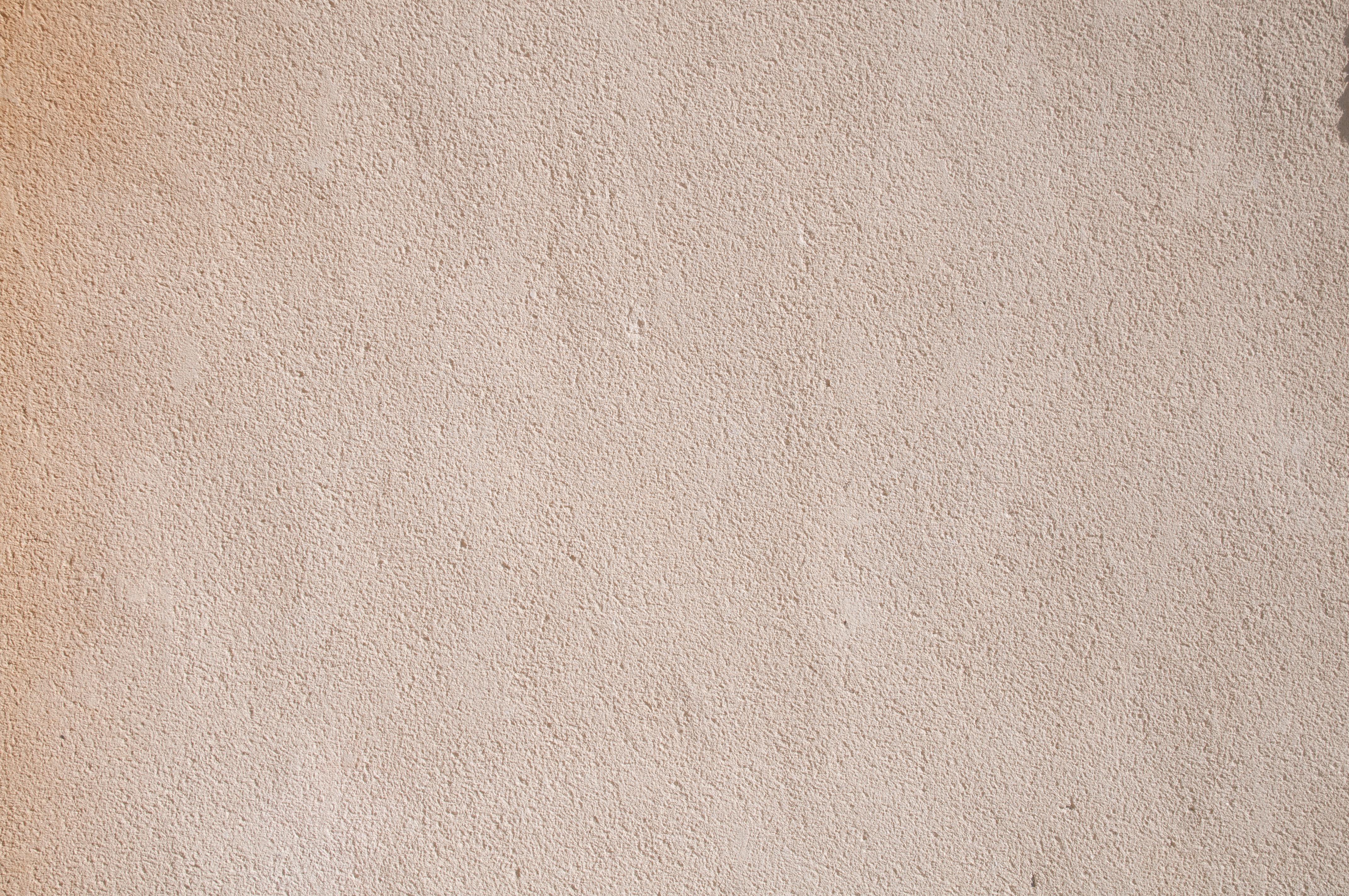 Subtle grain plaster wall beige