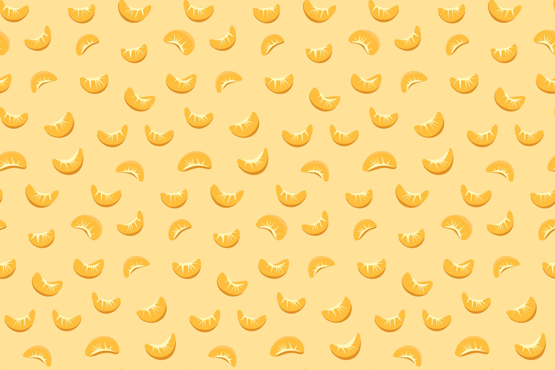 Tangerines pattern light background graphic