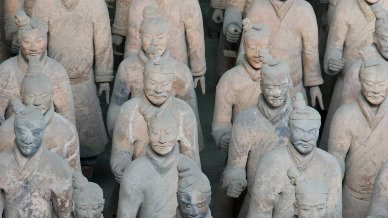 Terracotta Army Sculptures