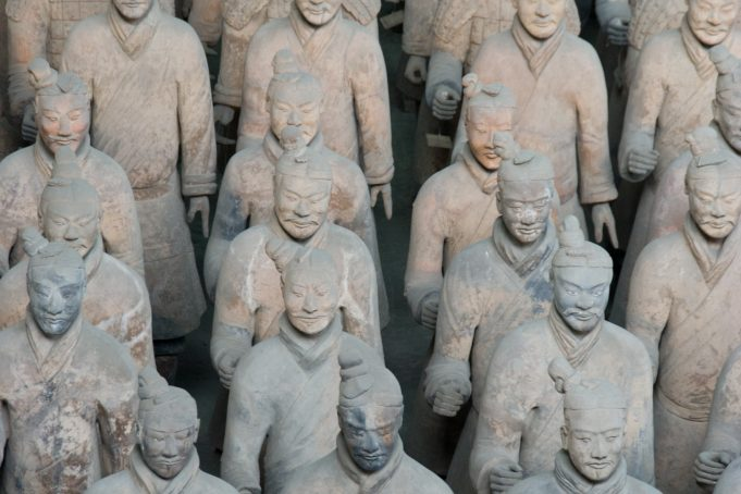 Terracotta Army Sculptures