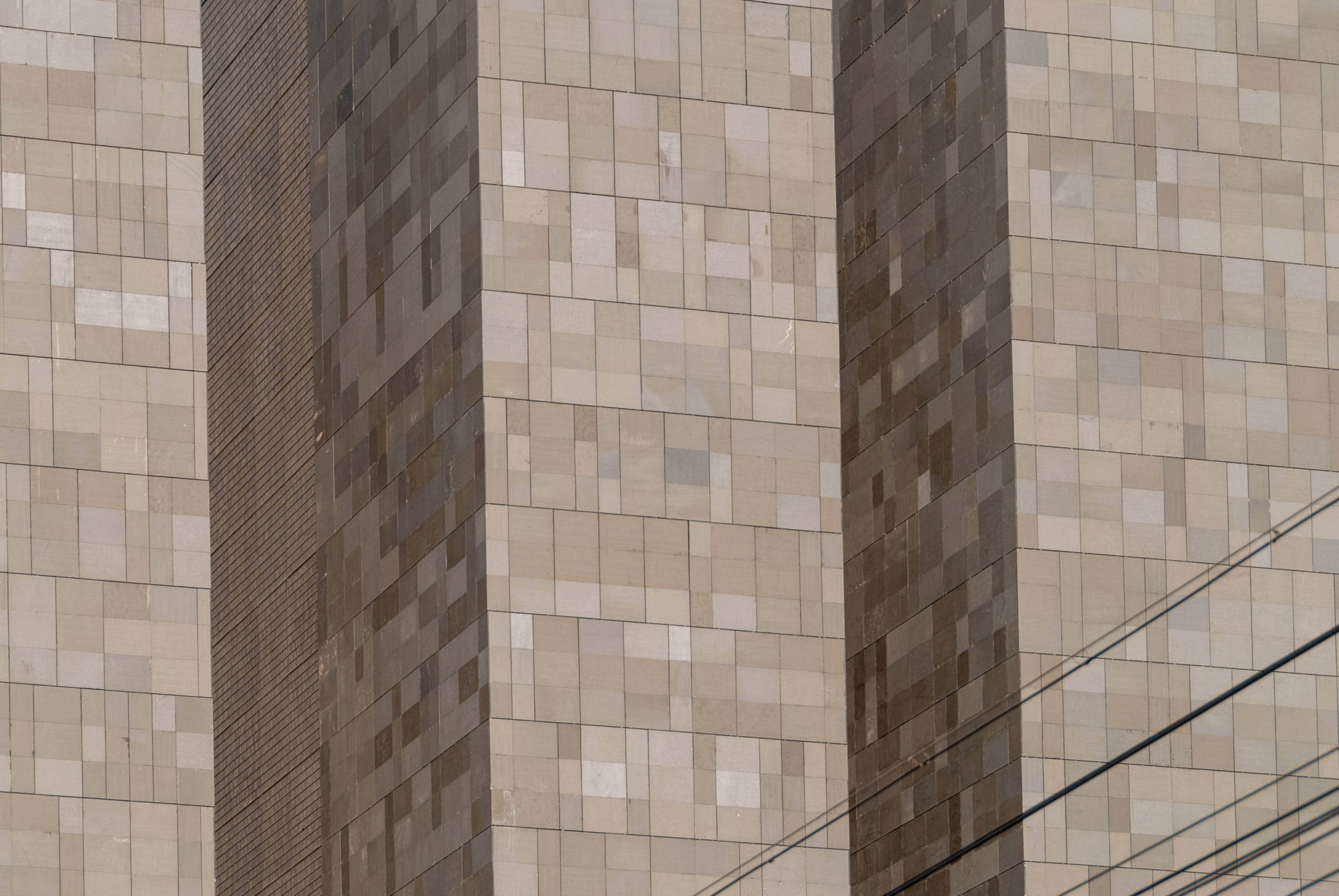 The Digital Beijing Building close-up