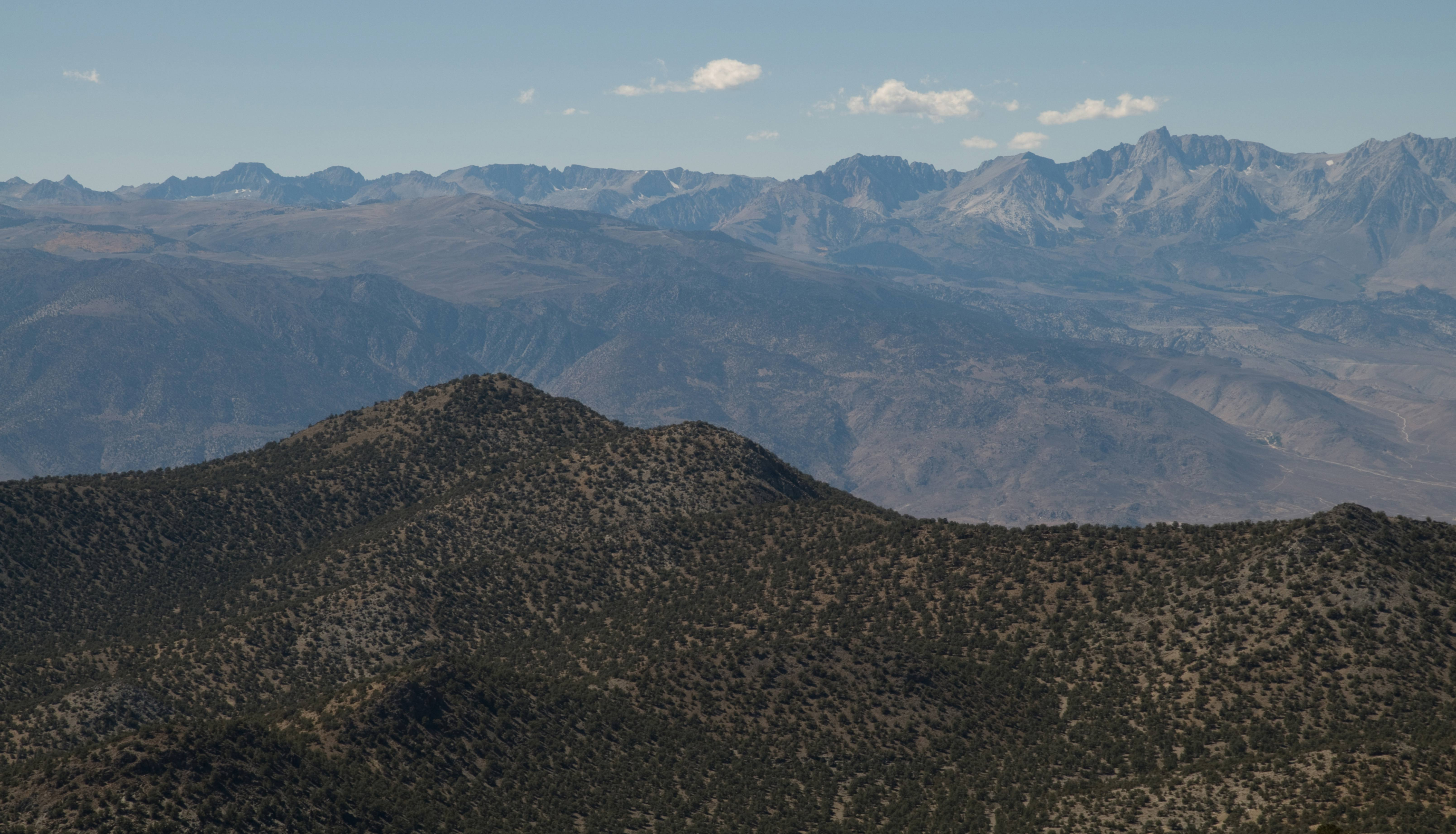 The Palisades from the Sierra View Point Vista
