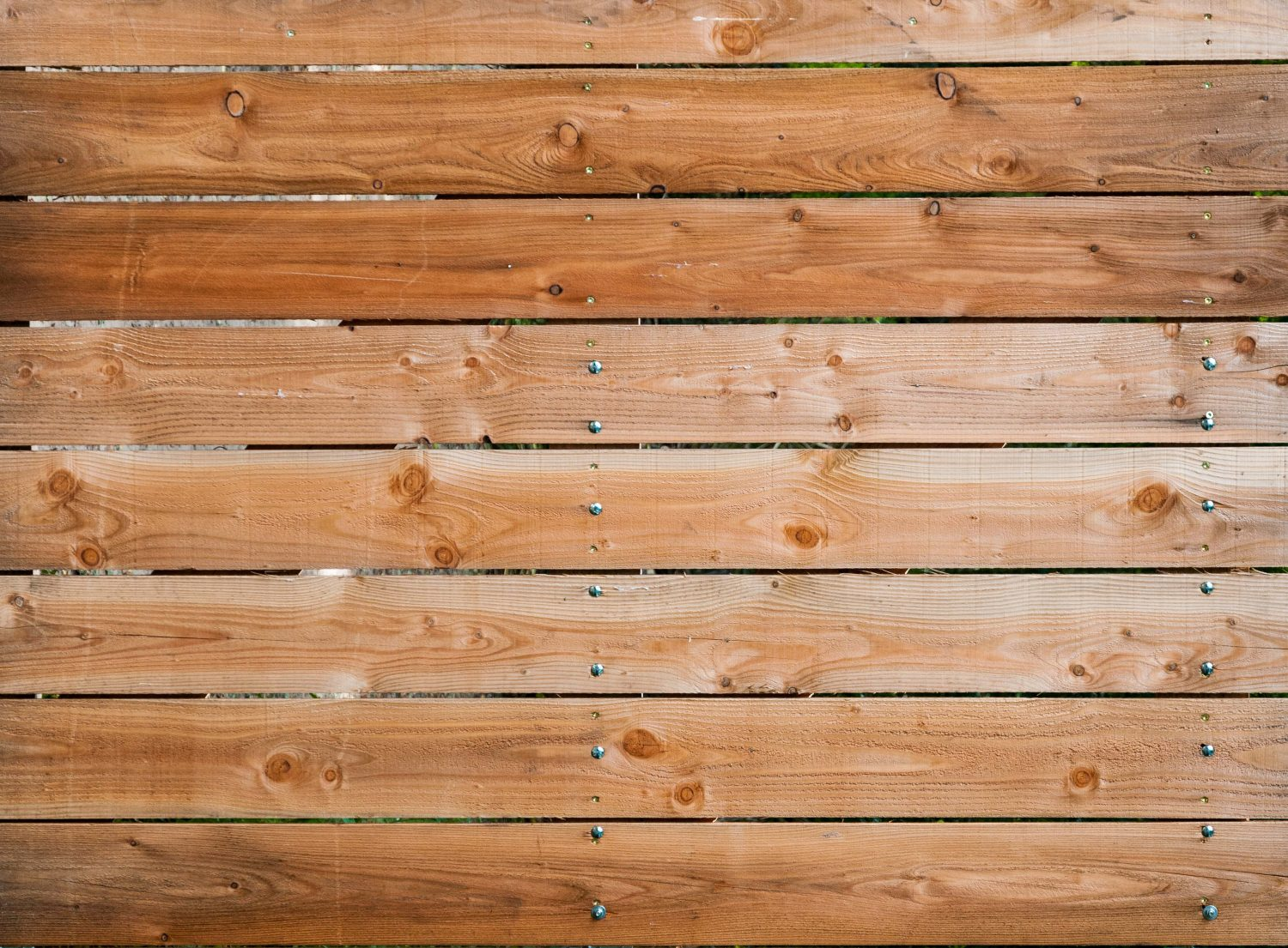 Timber wood wall nails background stock photo