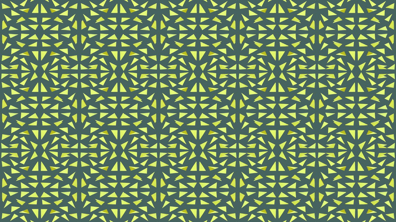 Triangles Paper Cut Pattern