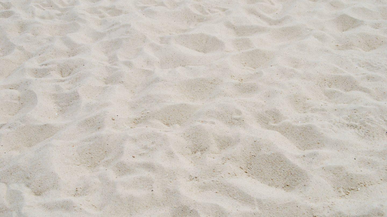 Tropical beach sand background