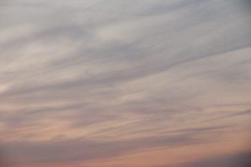 Vague Sunset Sky
