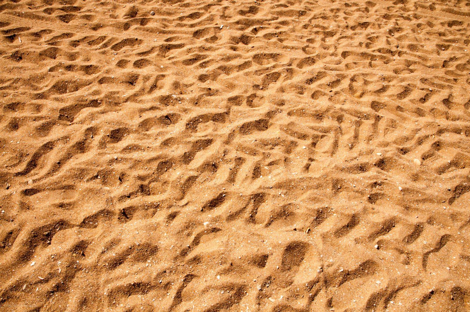 Walk on the Beach sand texture