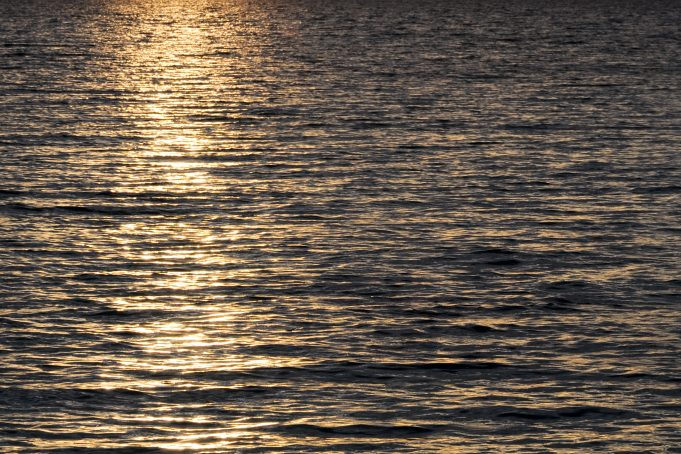 Water Sunset free background