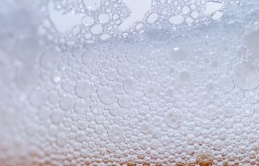 Water bubbles background pattern
