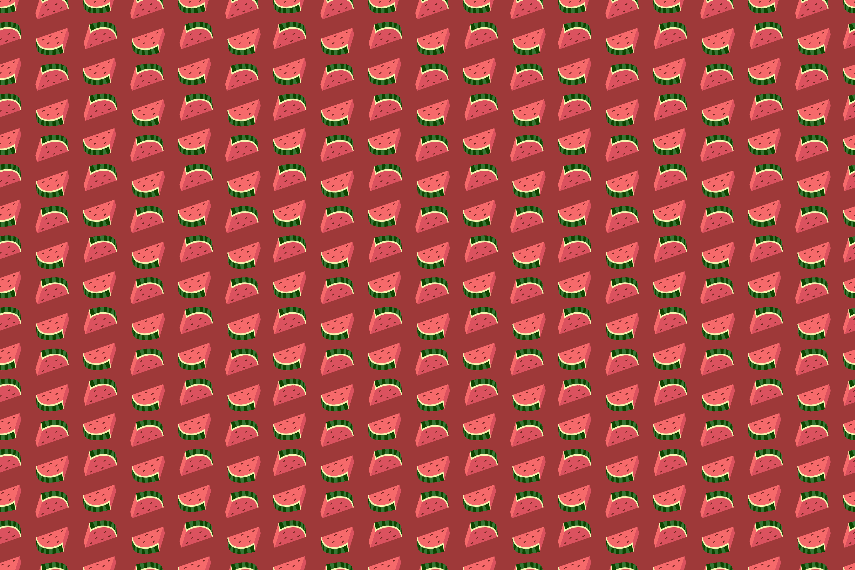 Water melon slices hd wallpaper pattern red