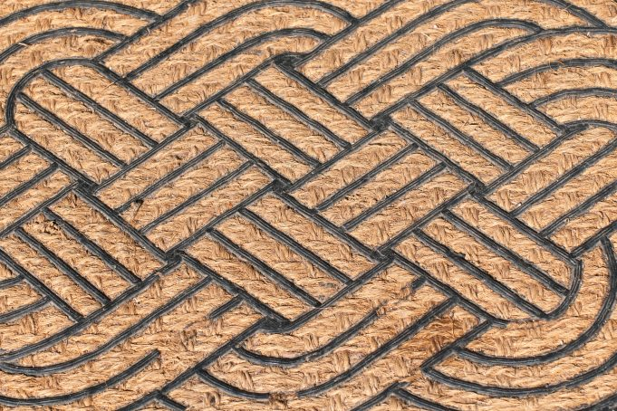 Weave reed pattern background