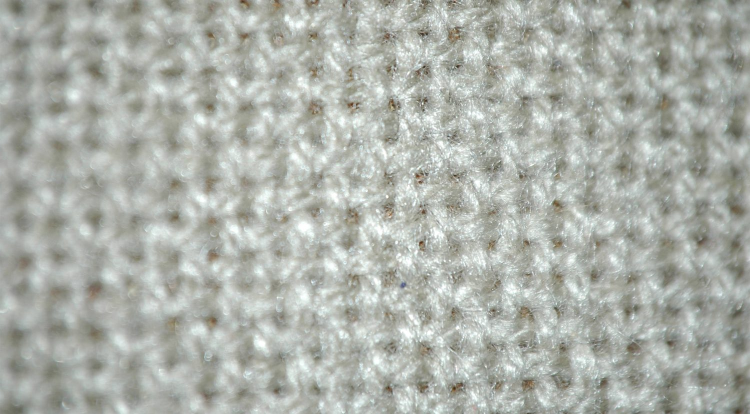 White Canvas Fabric Close-Up
