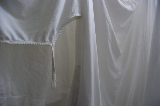 White Laundry Drying