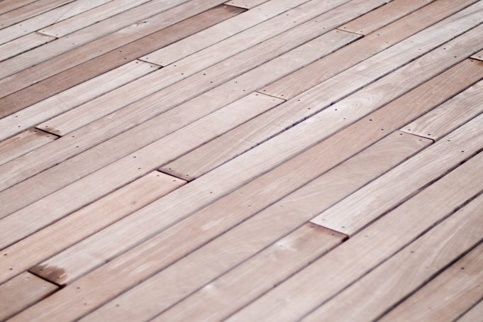 Wooden Terrace Floor