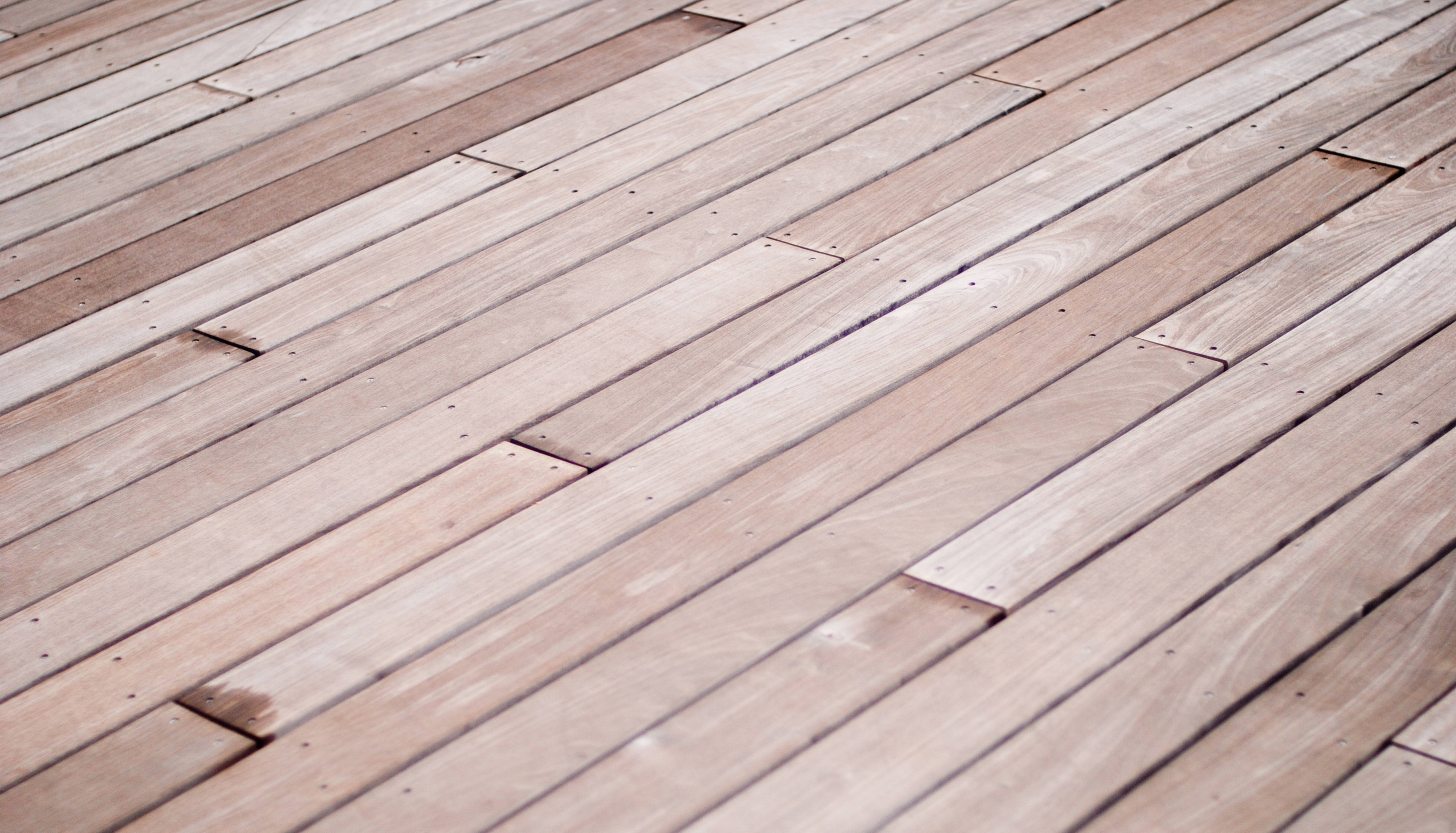 Wooden Terrace Floor
