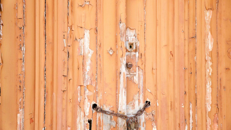 Wooden doors background