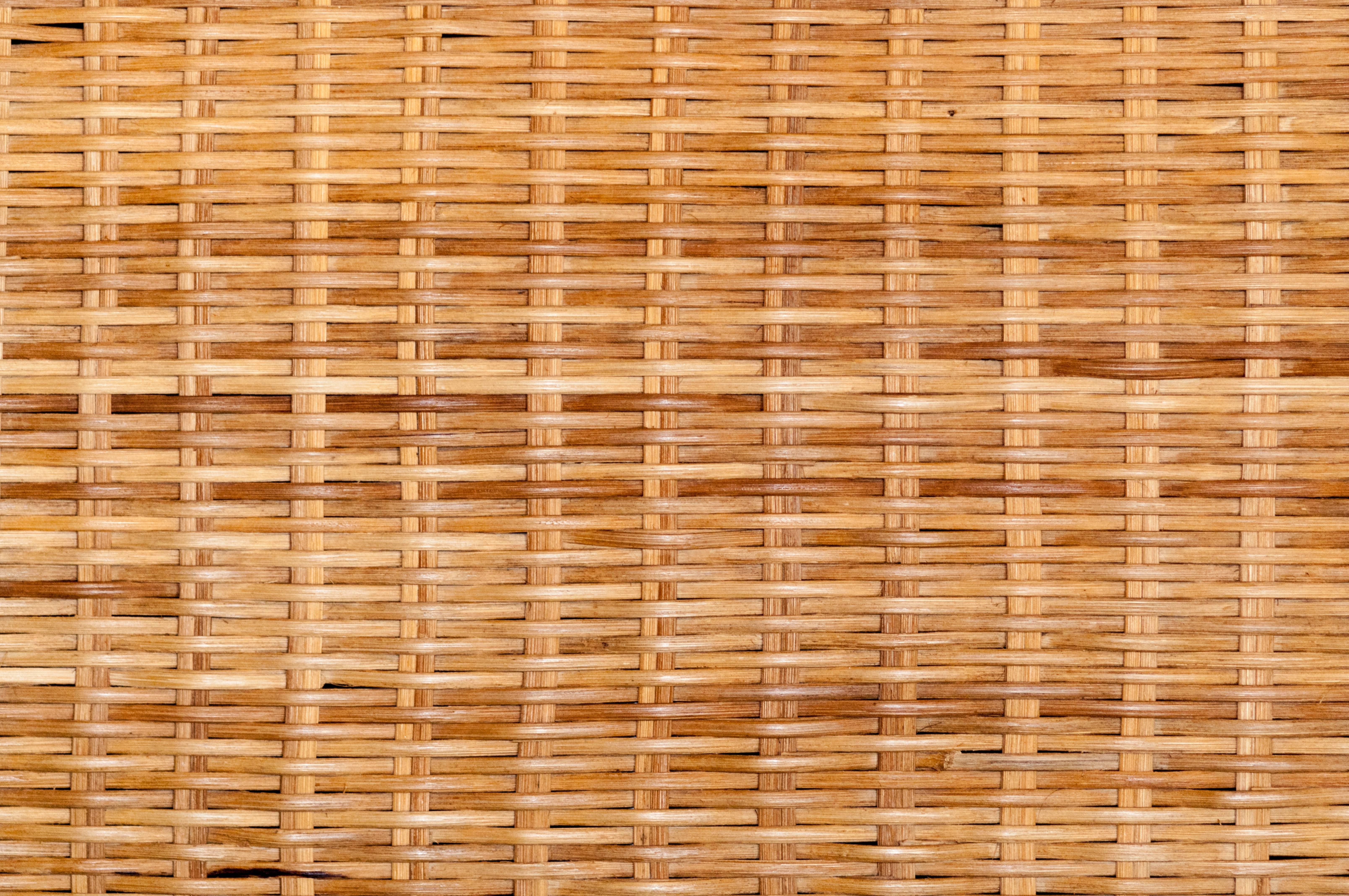 Woven Wood Texture Pattern