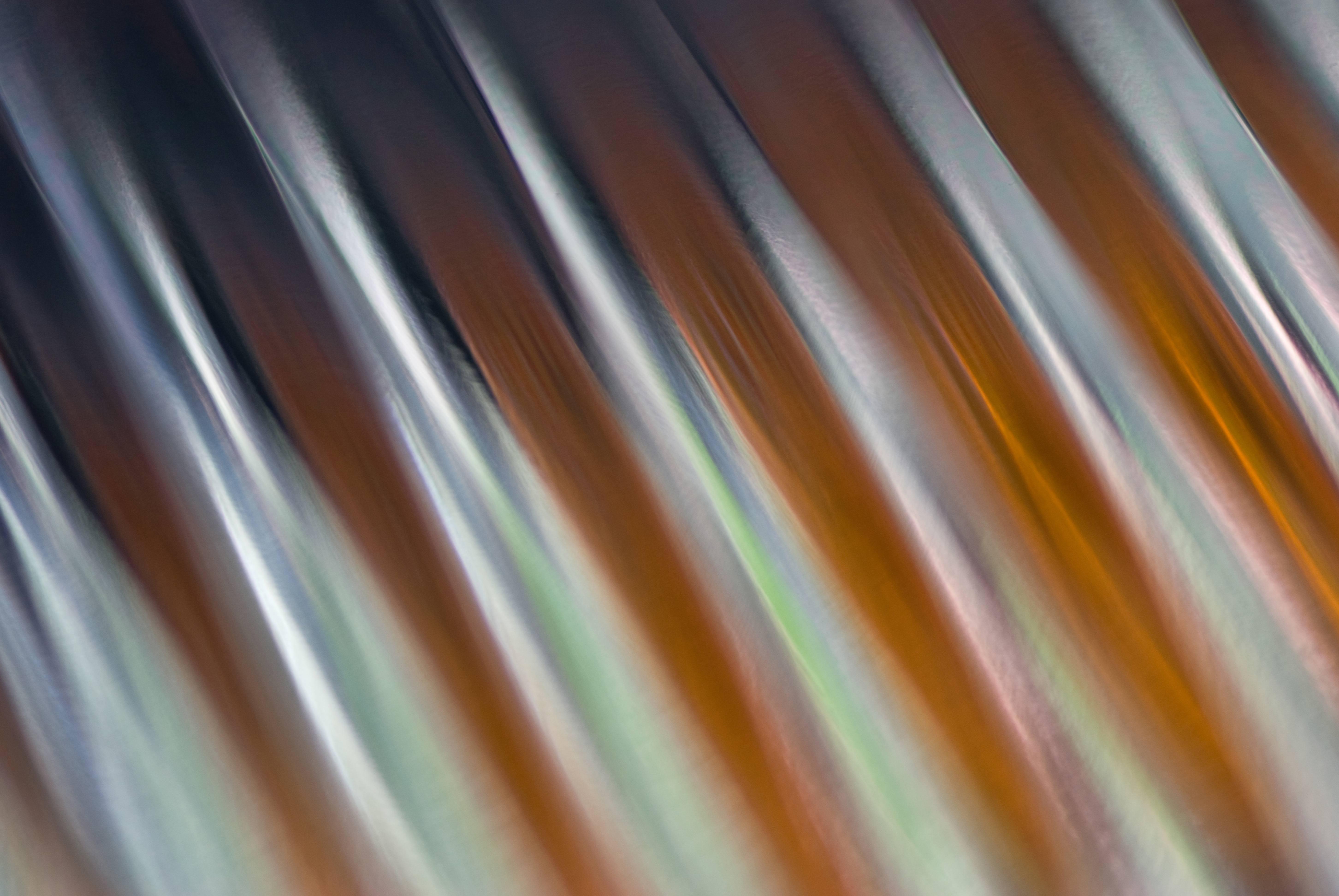 Car light reflector close-up