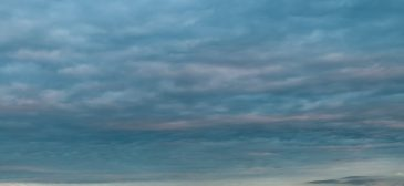 Dramatic dark cloudy sky