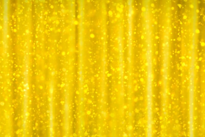 Gold glitter curtain background texture
