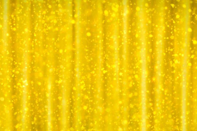 Gold glitter curtain background texture