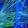 lasershow background