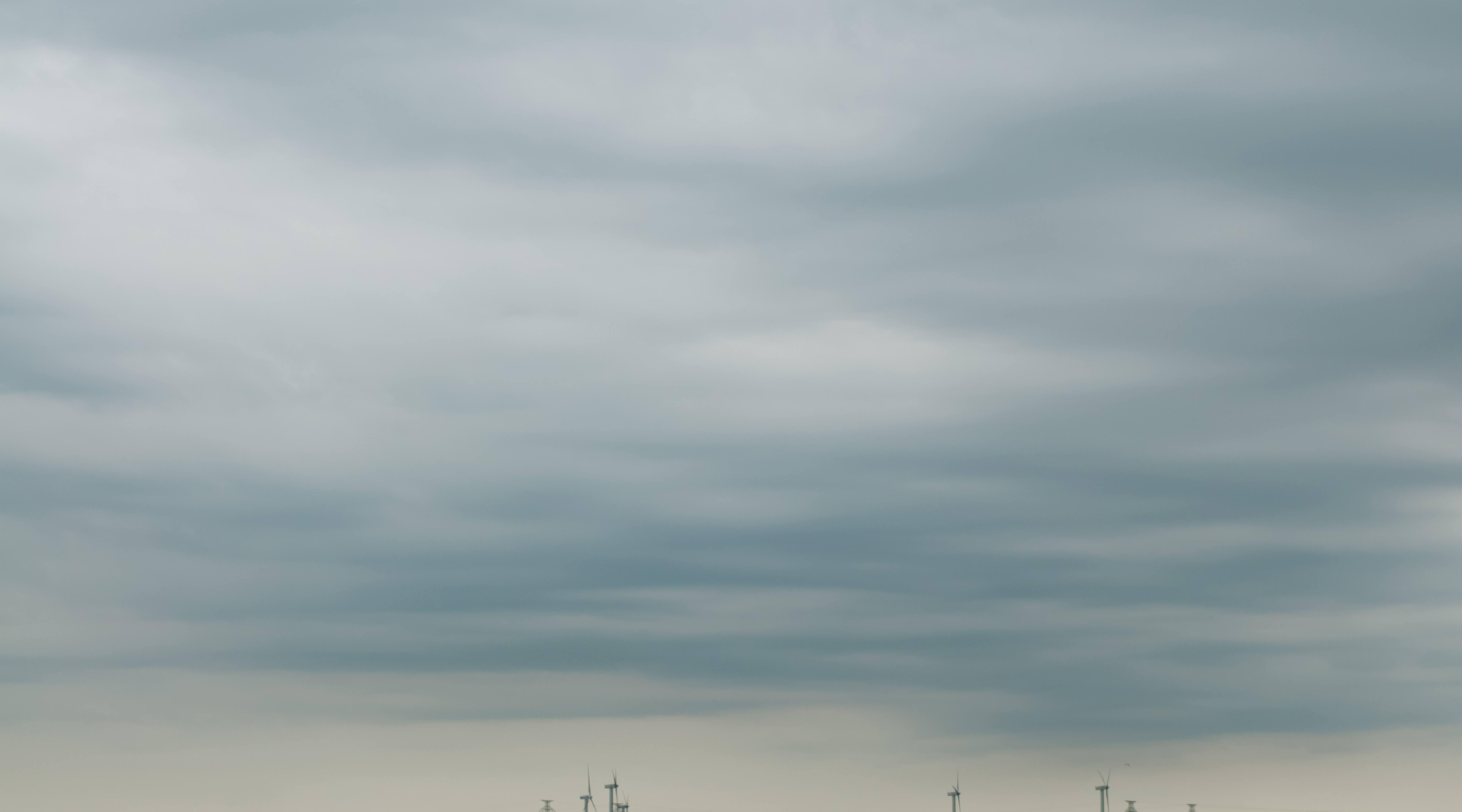 Light soft clouds sky