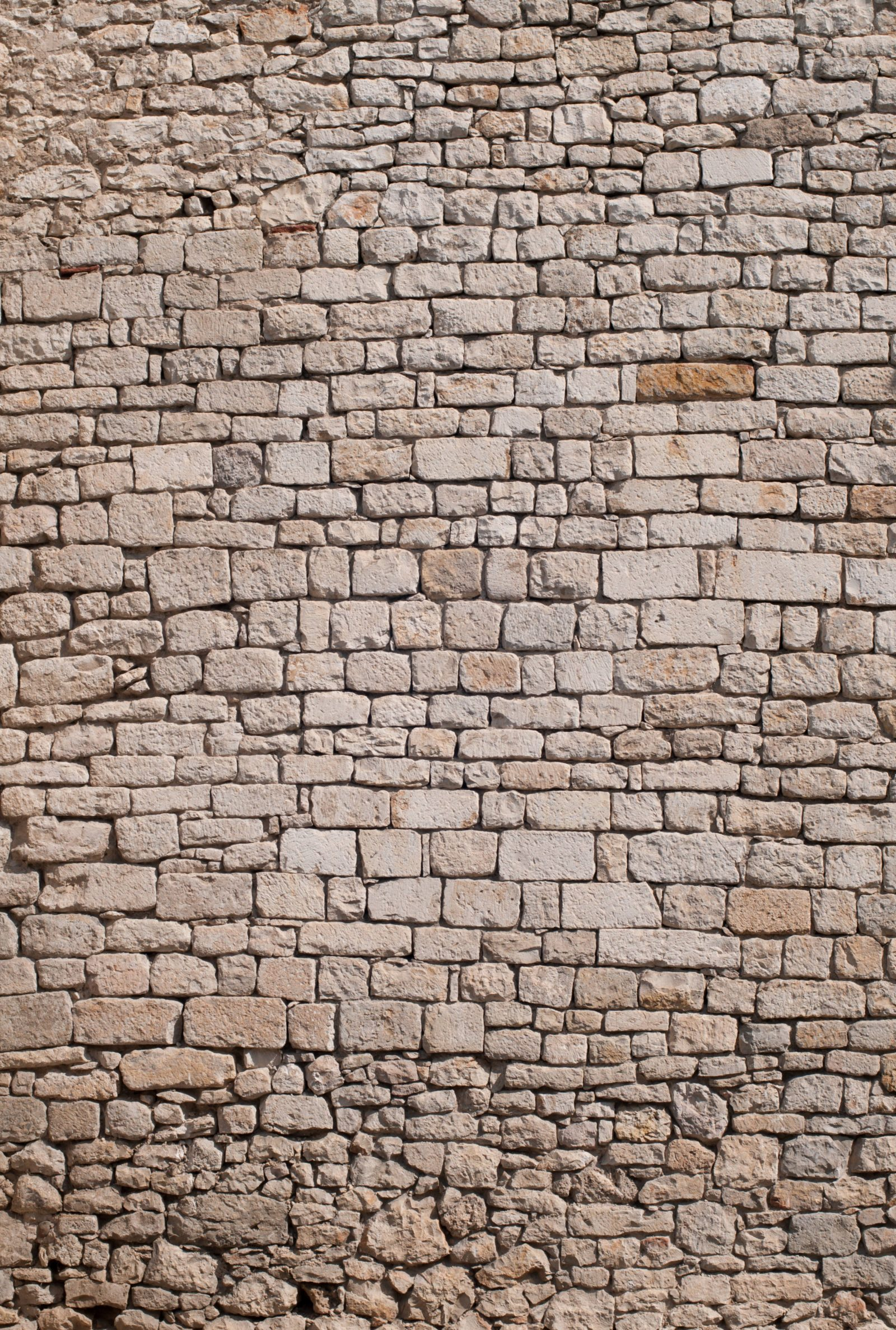 Old stone wall pattern from medieval castle