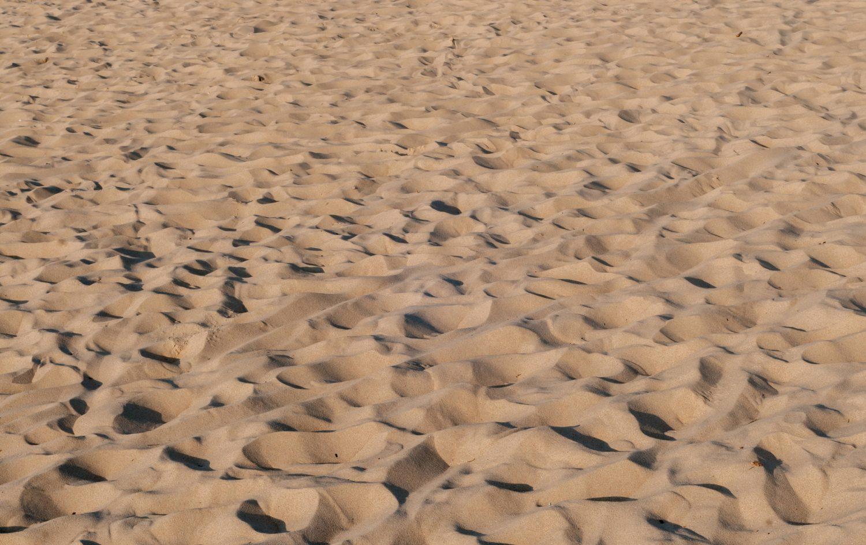 Soft beach sand pattern