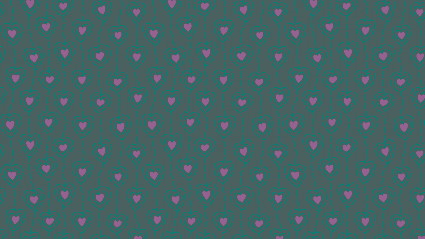 turquoise hearts wallpaper-patternpictures-1912