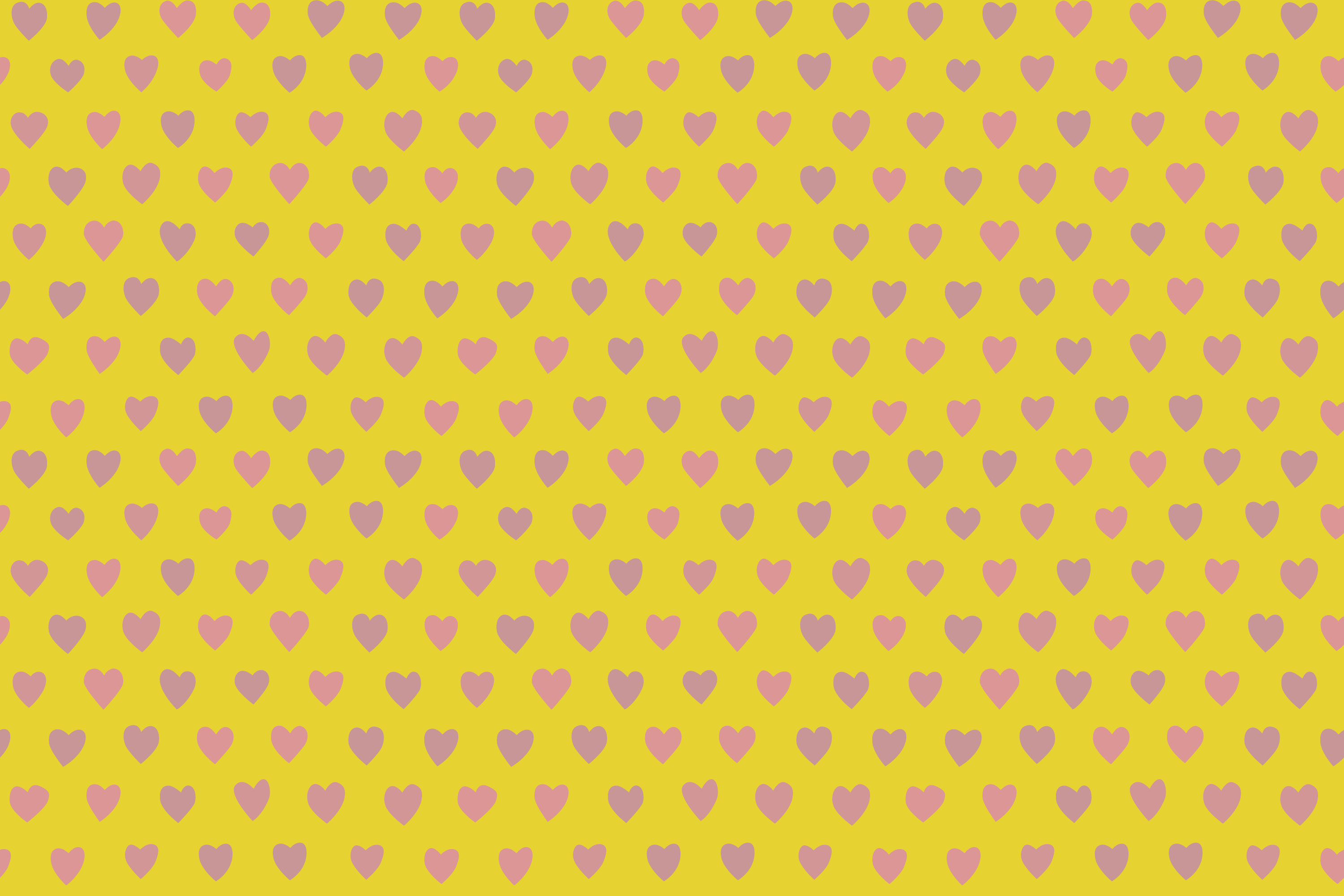 yellow background hearts-patternpictures-1912
