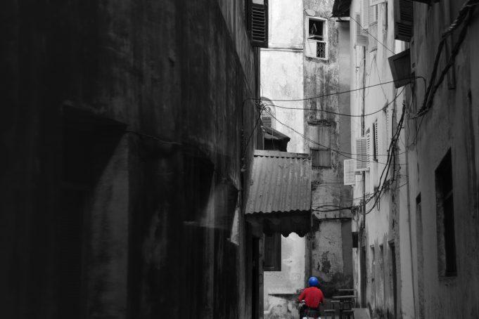 Zanzibar Stone Town alley